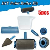 Veena 5 Pcs Wall Painting Paint Edger Roller Kit House Runner Pro Brush