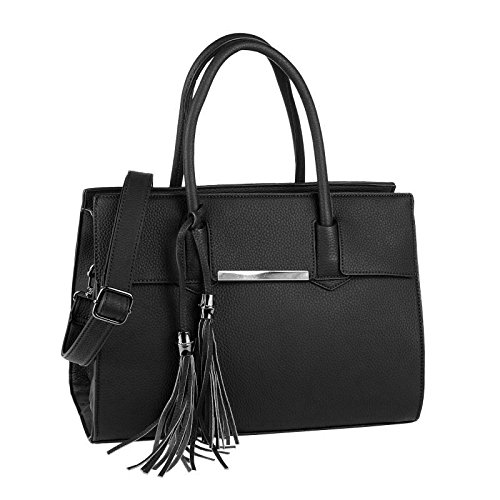 OBC Only-Beautiful-Couture, Borsa a mano donna nero nero ca.: 35x26x15 cm (BxHxT)
