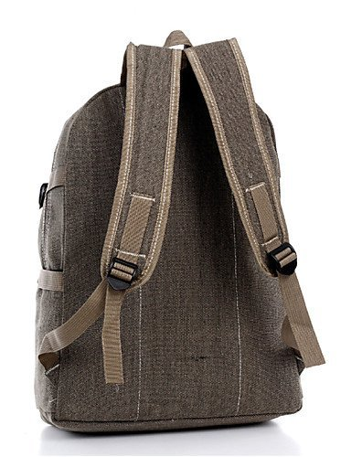 GXS Outdoor Multifunktions Wandern Camping Bergsteigen Tasche Retro Fashion Simple Schulter Bag Student - khaki