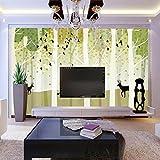 Thatch TV Hintergrundwand reduziert Schallschutz Schall absorbierenden Schimmel 3D handgemalten Tapeten , picture color