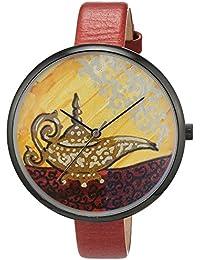 B360 watch Unisex-reloj grande, 3 barras analógico de cuarzo cuero B-UNIQUE Certificate AR1300266
