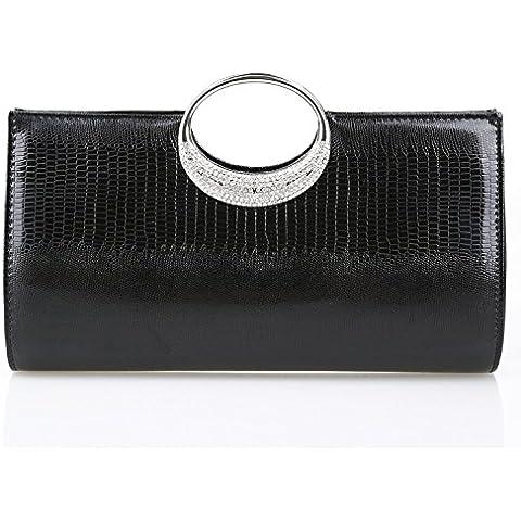 Chiusura lusso Diamond Classic magnetica di stile europeo e americano stile di prima scelta in pelle multi-purpose signora frizione borsa