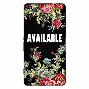 Bhishoom Designer Printed Back Case Cover for Sony Xperia Z3 :: Sony Xperia Z3 Dual D6603 :: Sony Xperia Z3 D6633 (Available :: Text :: Typography :: Flowers :: Floral)