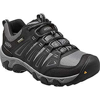 KEEN Men's Oakridge Wp Low Rise Hiking Shoes 10