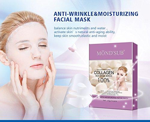 Mond'sub Anti-wrinkle, Moisturizing, Nourishing & Hydrating Face Masks (Pack of 3 x...