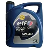 Elf ELEX5405 Evolution 900 NF 5W40 5L, 5 L