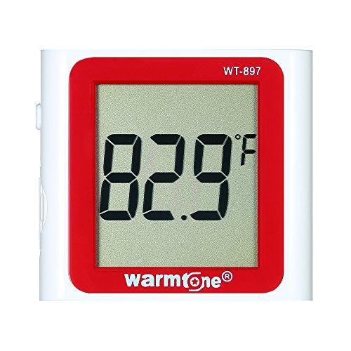 Galapara LCD Digital Thermometer wasserdichte Aquarium Temperaturmessgerät 0 ° C ~ 40 ° C / 32 ° F ~ 104 ° F