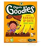 Organix Goodies Banane & Datum Klobigen Fruchtriegel 6X17G (102G)