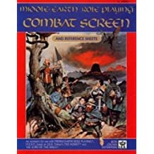 Combat Screen and Reference Sheets (MERP/Middle Earth Role Playing) by s Coleman Charlton (1985-06-02)