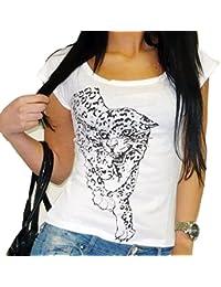 Tiger : T-shirt imprimé panthère