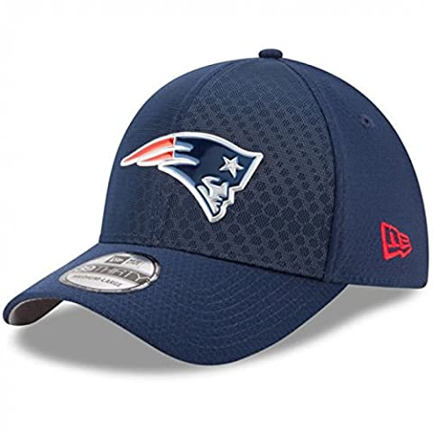 New Era - Casquette NFL New England Patriots On Field Color Rush 39THIRTY taille casquette - M/L (56-61cm)