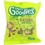Organix Goodies Raisins Californiens Organiques Pour Les Tout-Petits De 12 Mois Et 250G - Lot De 2