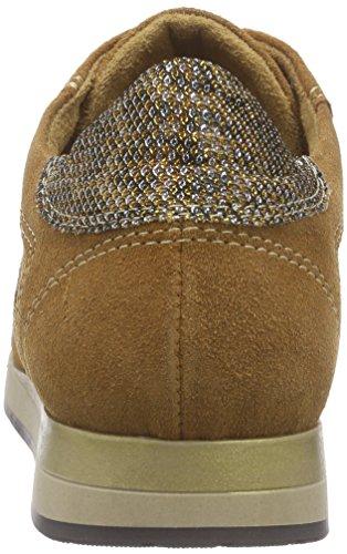 Tamaris - 23628, Scarpe da ginnastica Donna Marrone (Braun (CUOIO COMB. 419))