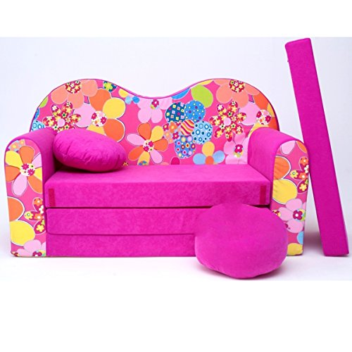 Kinder 3-er Set Kindersofa + 2 sessel H12 - 2