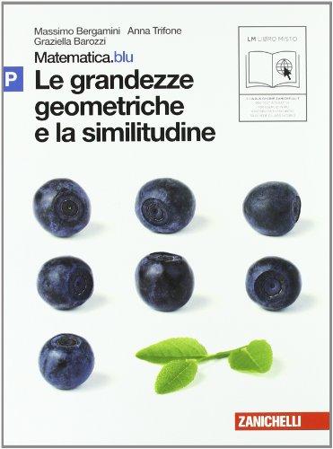 Matematica.blu 2.0. Vol. P.Blu: Le grandezze geometriche e la similitudine. Per le Scuole superiori. Con espansione online