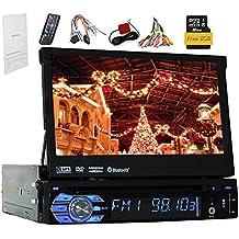 Sistema di Windows Eincar universale Autoradio Stereo singolo Stereo 1 baccano con 8GB GPS per auto navigatore satellitare lettore DVD in funzione del precipitare 7Inch Autoradio supporto stereo Bluetooth GPS / Navi / USB / SD / BT / controllo del volante / FM / AM RDS Ricevitore Headunit
