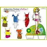 Colección Fantasy Clothes. Recortables. Recortar y vestir personajes: para payasos, deportistas, vestidos de noche, de fiesta, skate, love, etc.