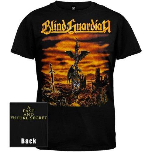 ill Rock Merch - Camiseta - Hombre de color Negro de talla X-Large - Ill Rock Merch Blind Guardian - A Past And Future Secret (Camiseta) (X-Large)