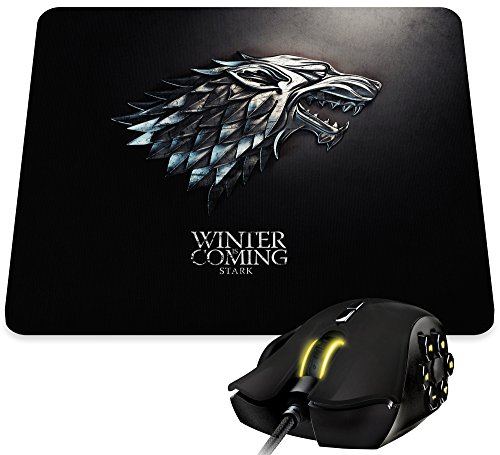 """Preisvergleich Produktbild Kanto Factory Mauspad Game of Thrones, Haus Stark und Motto """"Winter is coming"""""""