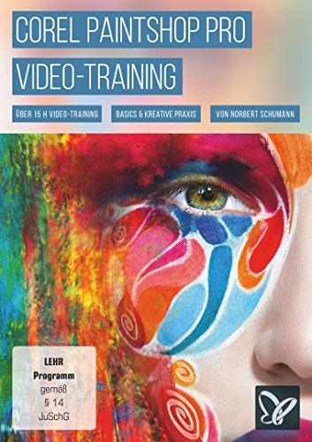 Corel PaintShop Pro-Video-Training (PC+Mac+Tablet)