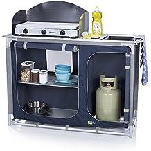 cucina da esterni campart travel ki 0753 alicante con paravento spazio per bombola del gas
