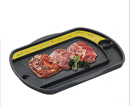 BBQ Grill Pan for Induction cooktop, Induction Cookware, Suitable for All Heat Sources