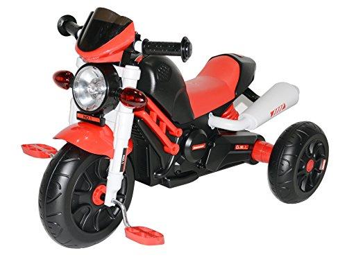 Kinder Motor Bike entworfen Manuelle Pedal Ride On Push entlang Dreirad Trike mit Licht und Musik