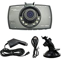 Dash Cam HD 1080P 2.7 Inch Car Camera Car On-dash Video Recorder Dashboard Camera with 170 Degree Wide Angle Night Vision G-sensor Motion Detection Parking Monitor Loop Recording