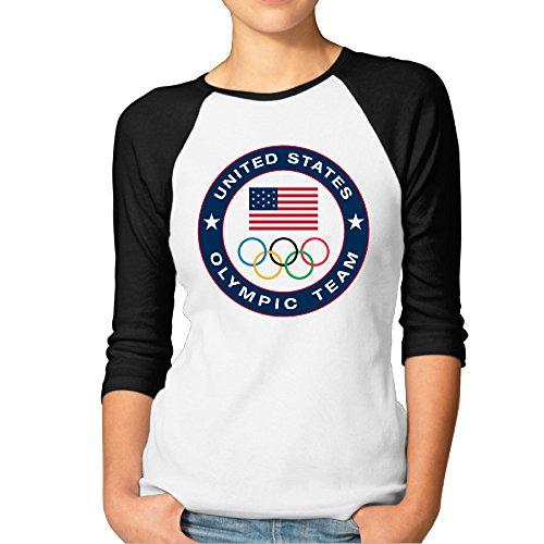Camiseta Manga raglán Logo Equipo olímpico Estados