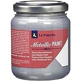 La Pajarita MEP-03 Pintura, Plata, 175 ml