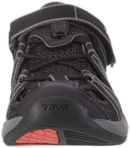 Teva W Rosa, Scarpe da Atletica Leggera Donna Multicolore (Black/coral)