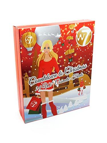 W7 Adventskalender Countdown to Christmas, 1er Pack (1 x 24 Stück)