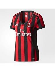 Adidas aC milan H Jsy W, T-shirt de football femme