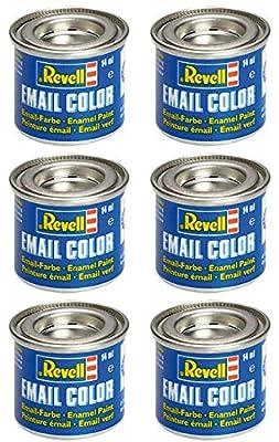 6 Revell 14ml Email Farben für Modellbau - Sie können die Farben wählen von Revell
