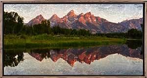 Galerie d'images 92234Fla.dok Tetons Canvas Art