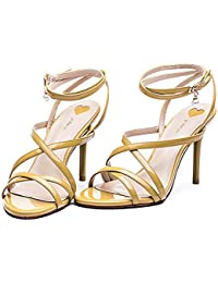 YMFIE Sandales d'été nouveau style de mode loisirs dames toe antiskid respirante chaussons,38,yellow