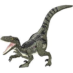 Jurassic World Velociraptor Animal Figure - Blue
