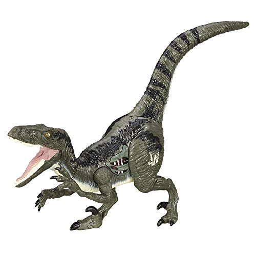Jurassic World Velociraptor Animal Figure - Blue