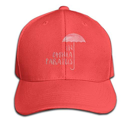 Osmykqe In Omnia Paratus Unisex Sommer Sonnenhut einstellbar lässig Golf Tennis Caps