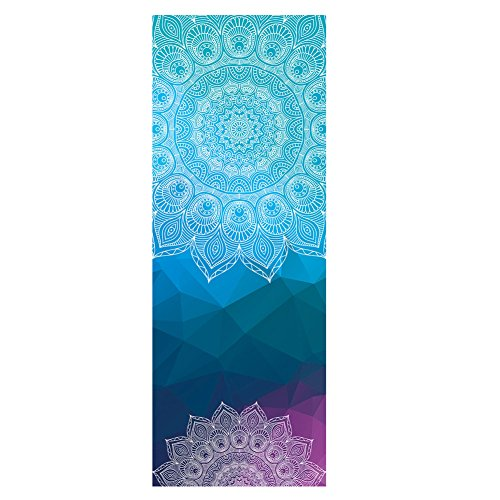 Dicke rutschfeste Yoga Handtücher,rutschfest saugfähig und hitzebeständig DOXUNGO Premium Yogatuch, Yoga Towel (B)