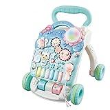 Baby Walker Multifunktions Rollover Prävention Jungen und Mädchen Lernen Walking Walker Cart Spielzeug