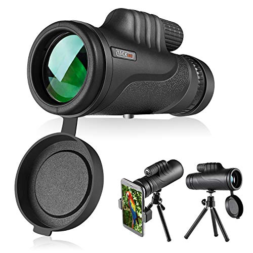 Telescopio monocular, TACKLIFE MCL01 Monocular 10 x 42, Lentes Multicapa Prisma BAK-4, Revestimiento...