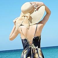 Straw Hat England Retro Giant Hat Hat Summer Folding Sun Cap Beach Cap Seaside