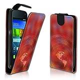Vertikal Flip Style Handy Tasche Case Schutz Hülle Schale