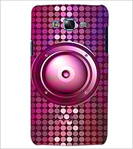 PrintDhaba Speaker D-3845 Back Case Cover for SAMSUNG GALAXY ON 7 (Multi-Coloured)