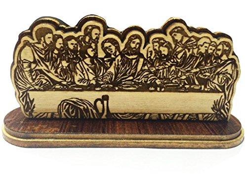 Muttertags Special Einzigartige Geschenke Holz letzte Abendmahl Jesu Christi dargestellt, Ausstellungsstand , benutzt für Haus und Büro-Schreibtisch,letztes Abendessen mit Jesus
