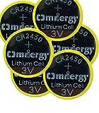 LAPROBING 3V Lithium-Knopfzelle CR2450 Batterien, 20er Votivkerzen, Teelichter, Video, Computer, Rechner, IC-Karten, elektrische Produkte