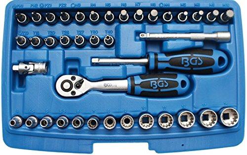 2151 Gearlock Steckschlüsselsatz,  6,3 (1/4), 39-tlg.