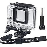 Hapurs buceo impermeable Vivienda de Protección Carcasa para GoPro Hero 5negro deporte accesorios de la cámara