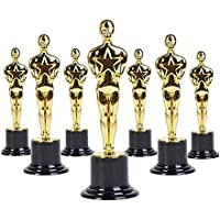 "BlueFind Oscar Gold Award Trophies, 6"" Trophy Statues, Pack of 12"